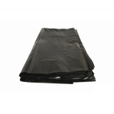 Пакет мусорный 180л ПВД 40мкм черный (50 шт.)