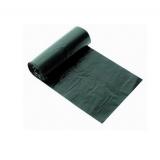 Пакет мусорный 180л ПВД 40мкм черный (10 шт/рул)