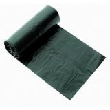 Пакет мусорный 180л ПВД 60мкм черный (10 шт/рул)