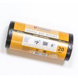 Пакет мусорный 120л ПСД черный (20шт/рул) ToMoS