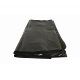 Пакет мусорный 120л ПВД 50мкм черный (50 шт.)