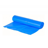 Пакет мусорный 120л ПНД синий (50шт/рул)