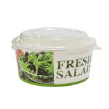 Контейнер бумажный 750 мл d=146мм, h=65мм Fresh salad для салата (50 шт.)