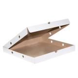 Коробка для пиццы 410х410х40мм микрогофрокартон (50 шт.)