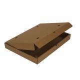 Коробка для пиццы 400х300х45мм гофрокартон бурый б/п РИМСКАЯ (50 шт.)