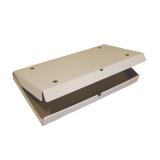 Коробка для пиццы 600х300х45мм гофрокартон белый (50 шт.)