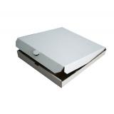 Коробка для пиццы 340х340х40мм микрогофрокартон (50 шт.)