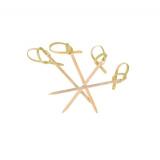 Пика бамбуковая для канапе Узелок 6см 100шт/упак