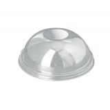 Крышка 270/350/420/500мл, d-95мм, купольная без отверстия высокая для стакана/креманки СП (50 шт.)