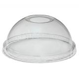 Крышка 270/330/350мл, d-92мм, купольная с отверстием высокая для стакана/креманки Tambien (50 шт.)