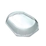 Крышка Sabert 36х24х5,5см 8-ми угольная прозрачная (25 шт.)