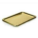 Поднос Sabert 35х16см золото (5 шт.)