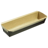 Бумажная форма Кекс 100х280мм, h=55мм, 350шт/упак, светло-коричневая
