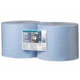 Протирочная бумага Tork W1/W2 суперпрочная синий рулон (130081) (2 шт.)
