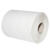 Полотенце бумажное 1сл 120 ToMoS центральная вытяжка белое на втулке (12 шт.)