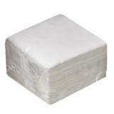 Салфетки бумажные 1сл 24х24 100л/упак белые (э) (48 шт.)