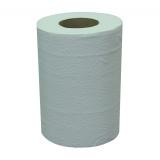 Полотенце бумажное 2сл 60 ToMoS эконом с центральной вытяжкой белое (6 шт.)