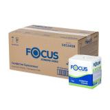 Салфетки бумажные 1сл 24х24 100л/упак Focus белые