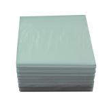Салфетки бумажные 1сл 24х24 100л/упак белые (э)