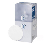 Салфетка бумажная коастер d= 9см 250шт/упак TORK Advanced белый (474474)