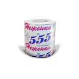 Туалетная бумага 1сл НЕЖЕНКА 555