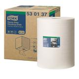 Протирочный нетканый материал Tork W3 суперпрочный белый комби-рулон (530137)