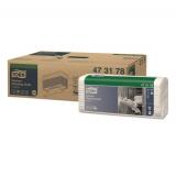 Протирочный нетканый материал Tork W4 белый для кухни салфетки (473178)