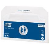 Бумажные покрытия для унитаза 250шт/упак Tork (750160)