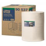 Протирочный нетканый материал Tork W3 для интенсивной очистки белый рулон (90537)