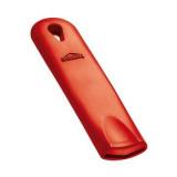 Ручка съемная д/сковородок(d=20-36см);  силикон;  ,L=15,B=3см;  красный
