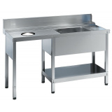 Стол для грязной посуды Angelo Po TP15FS