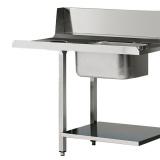 Стол для грязной посуды Angelo Po TP12FS