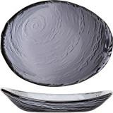 Салатник овал. «Скейп гласс» дымчатый Steelite арт. 6513 G376