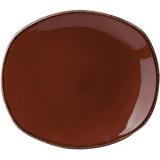 Тарелка мелкая овальная «Террамеса мокка» Steelite арт. 1123 0582
