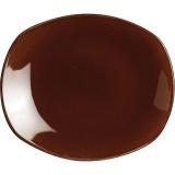 Тарелка мелкая овальная «Террамеса мокка» Steelite арт. 1123 0580