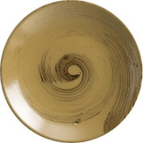 Тарелка мелкая коричнево-оливковый Steelite арт. A315P096A