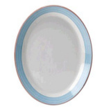 Блюдо овальное «Рио Блю» Steelite арт. 1531 0142