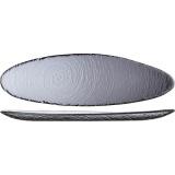 Блюдо овал. «Скейп гласс» дымчатый Steelite арт. 6513 G381