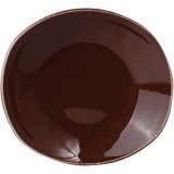 Тарелка глубокая овальная «Террамеса мокка» Steelite арт. 1123 0585