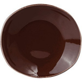 Тарелка глубокая овальная «Террамеса мокка» Steelite арт. 1123 0587
