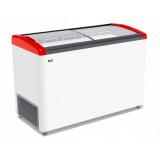 Ларь морозильный GELLAR FG 400 E красный
