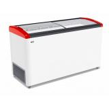 Ларь морозильный GELLAR FG 500 E красный