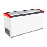 Ларь морозильный GELLAR FG 600 E красный