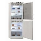 Холодильник фармацевтический Позис ХФД-280 (1 стекл. + 1 глухая двери)
