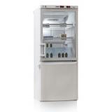 Холодильник лабораторный Pozis ХЛ-250 (метал. + стекл. двери)