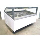 Витрина под весовое мороженое «САБРИНА» 12 гастроемкостей