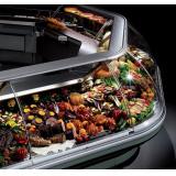 Холодильная витрина Criocabin ERGO AA 45 (внеш. угол 45, выносной холод)