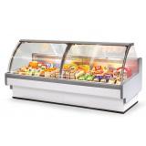Витрина холодильная AURORA 125 Reverse Glass вентилируемая