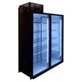 Холодильная камера на 2 стеклянных двери КОЛОВРАТ 2