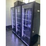 Холодильная камера на 3 стеклянных двери КОЛОВРАТ 3
